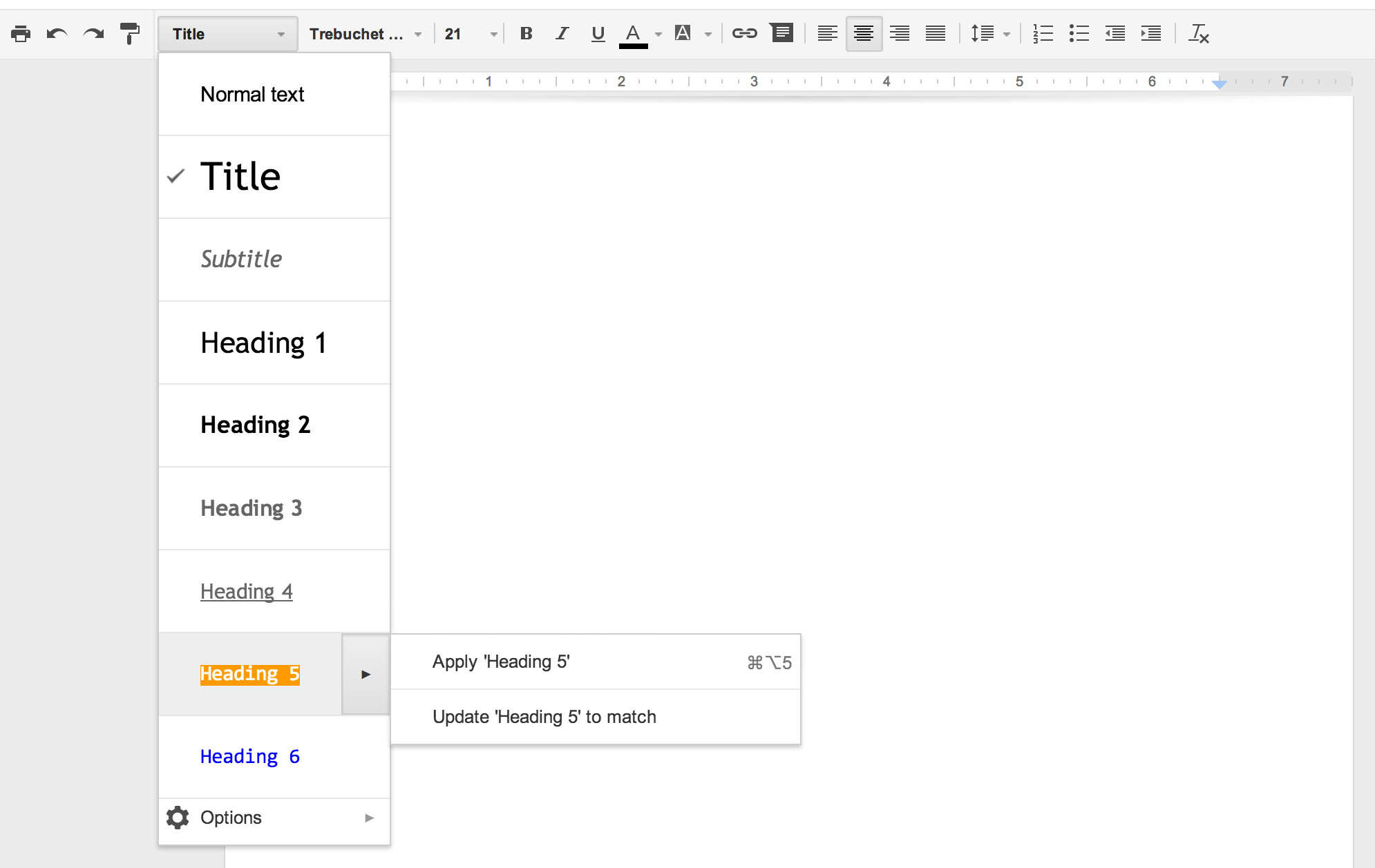 free tutorials how to make a table of contents in google docs