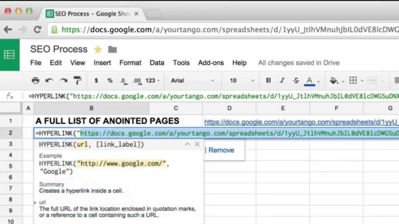 how to make google doc spreadsheet