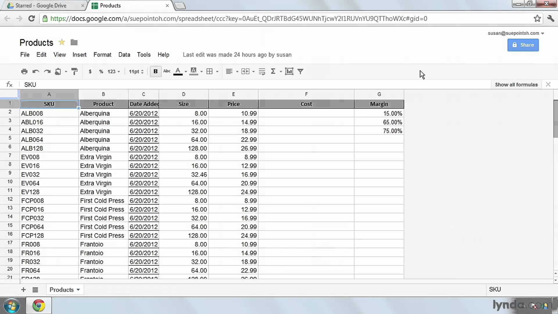 google spreadsheet concatenate