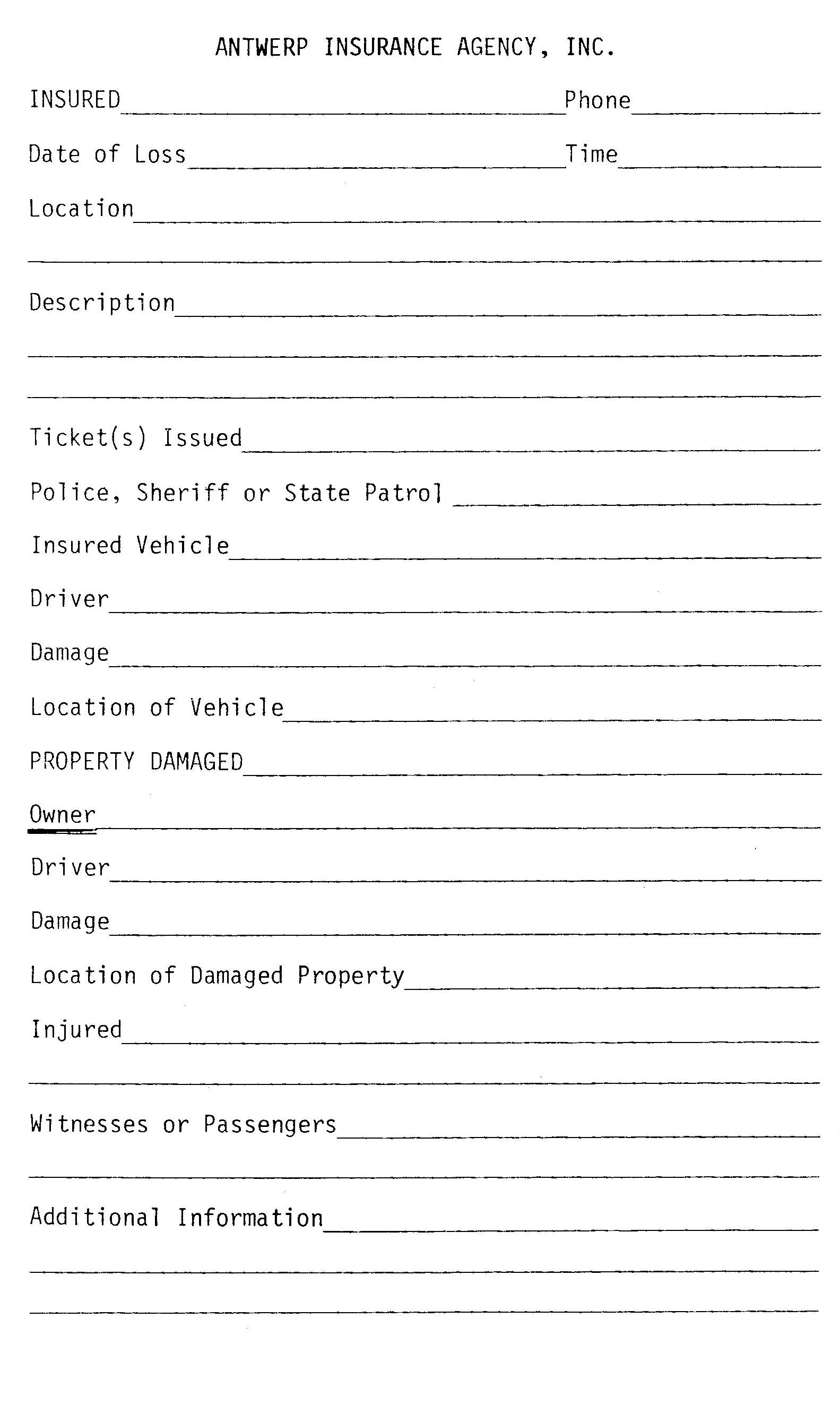 home insurance quote sheet template_9