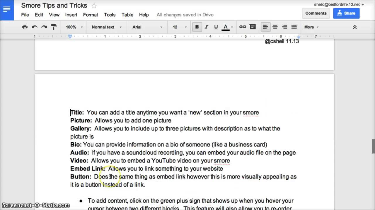 how to add page numbers in google docs download
