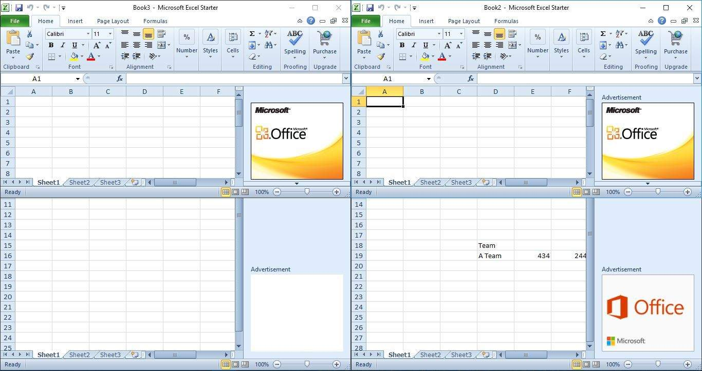 how to compare two excel files for differences 2010