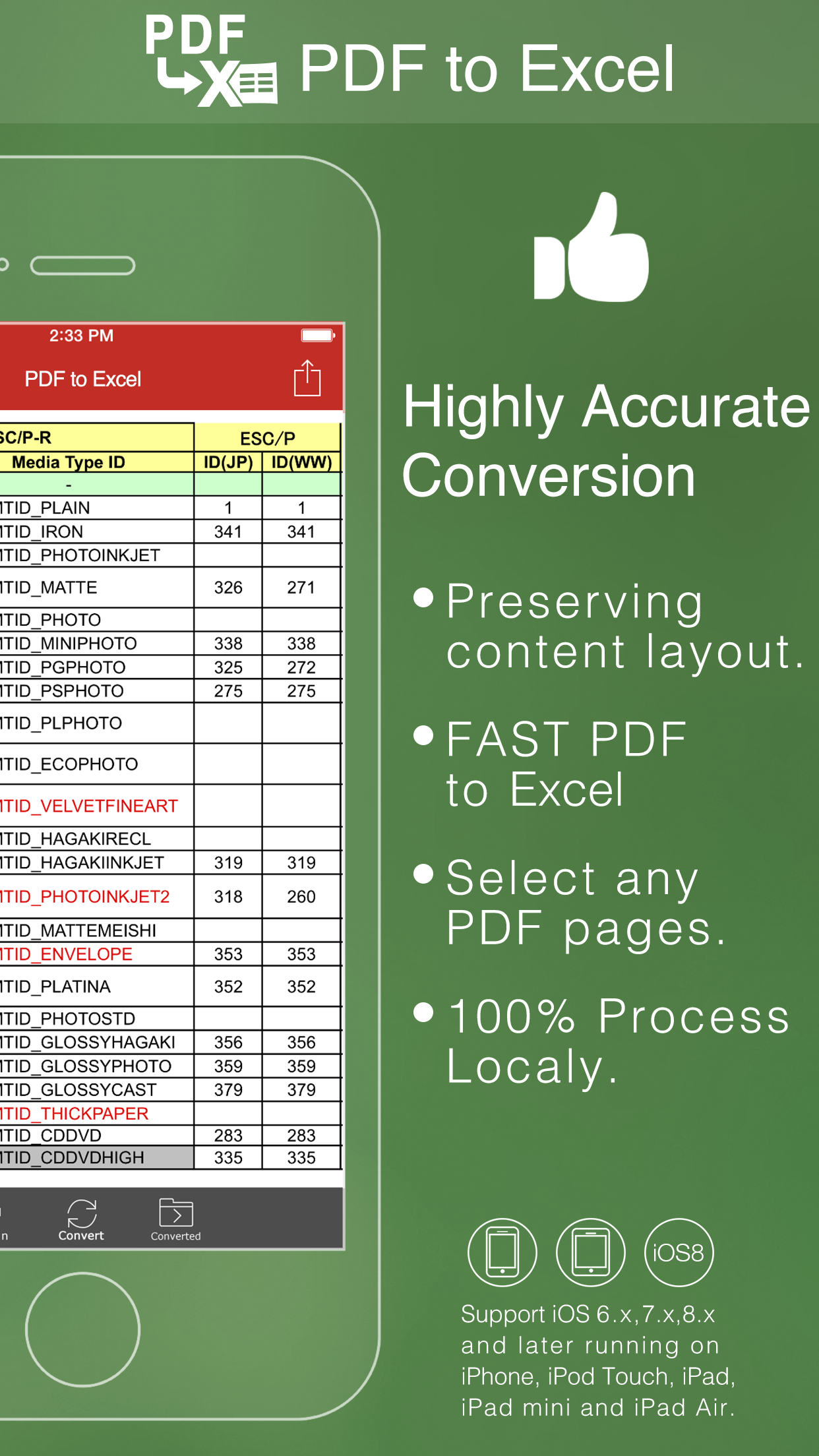 how to convert pdf to excel file online