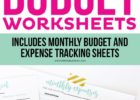 how to create a business budget in excel