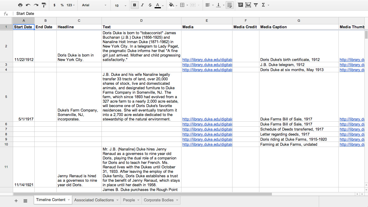 how to create a google docs spreadsheet