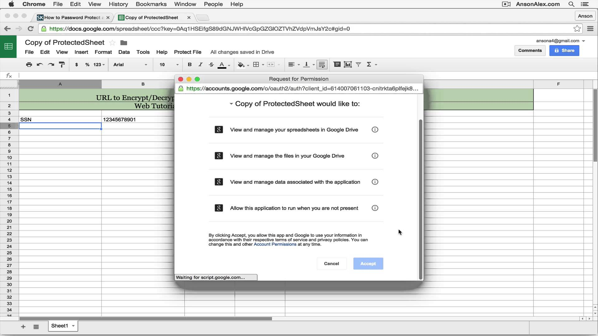 how to create a shared google doc
