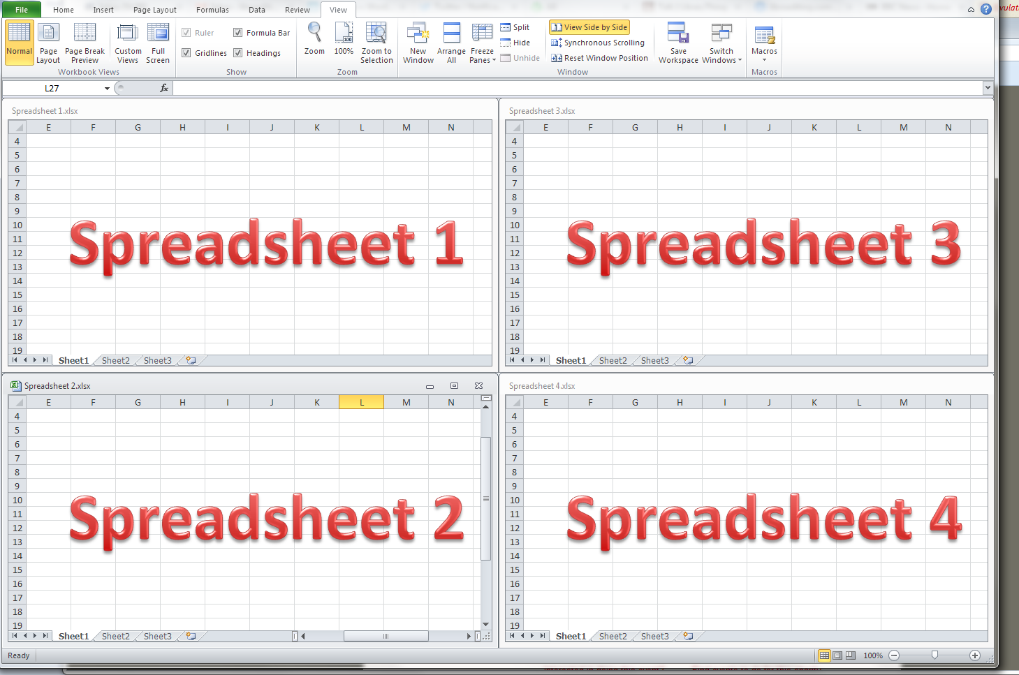 how to create an excel spreadsheet for dummies