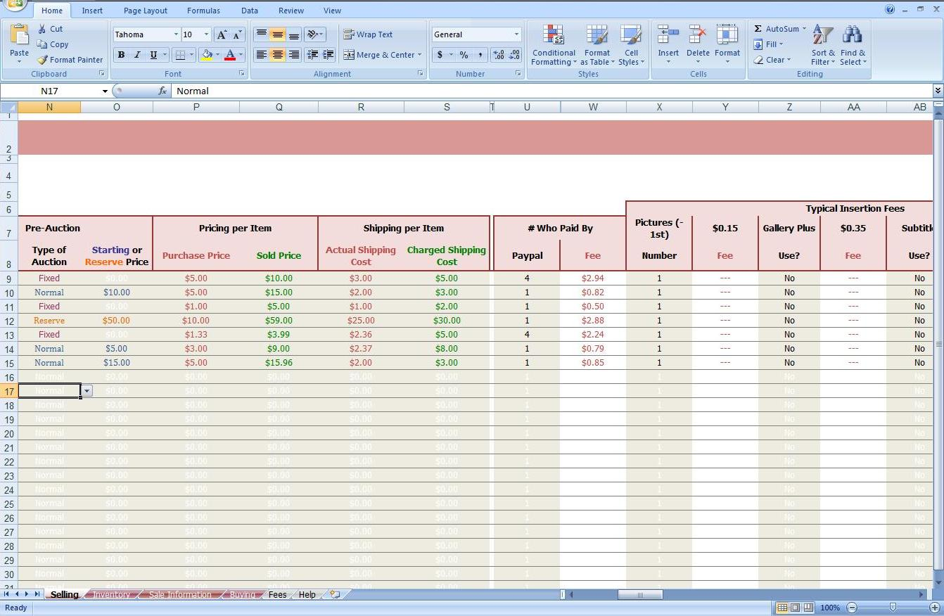 how to create an inventory spreadsheet free tutorials