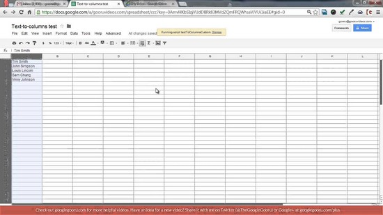 how to do a spreadsheet on excel 2013