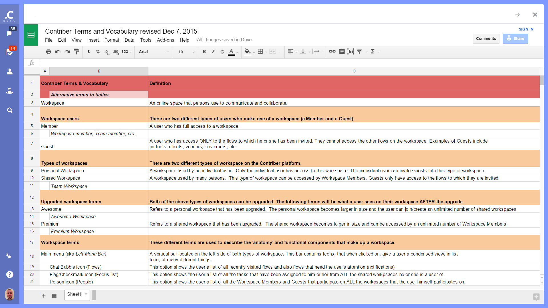 how to link two spreadsheets in google docs