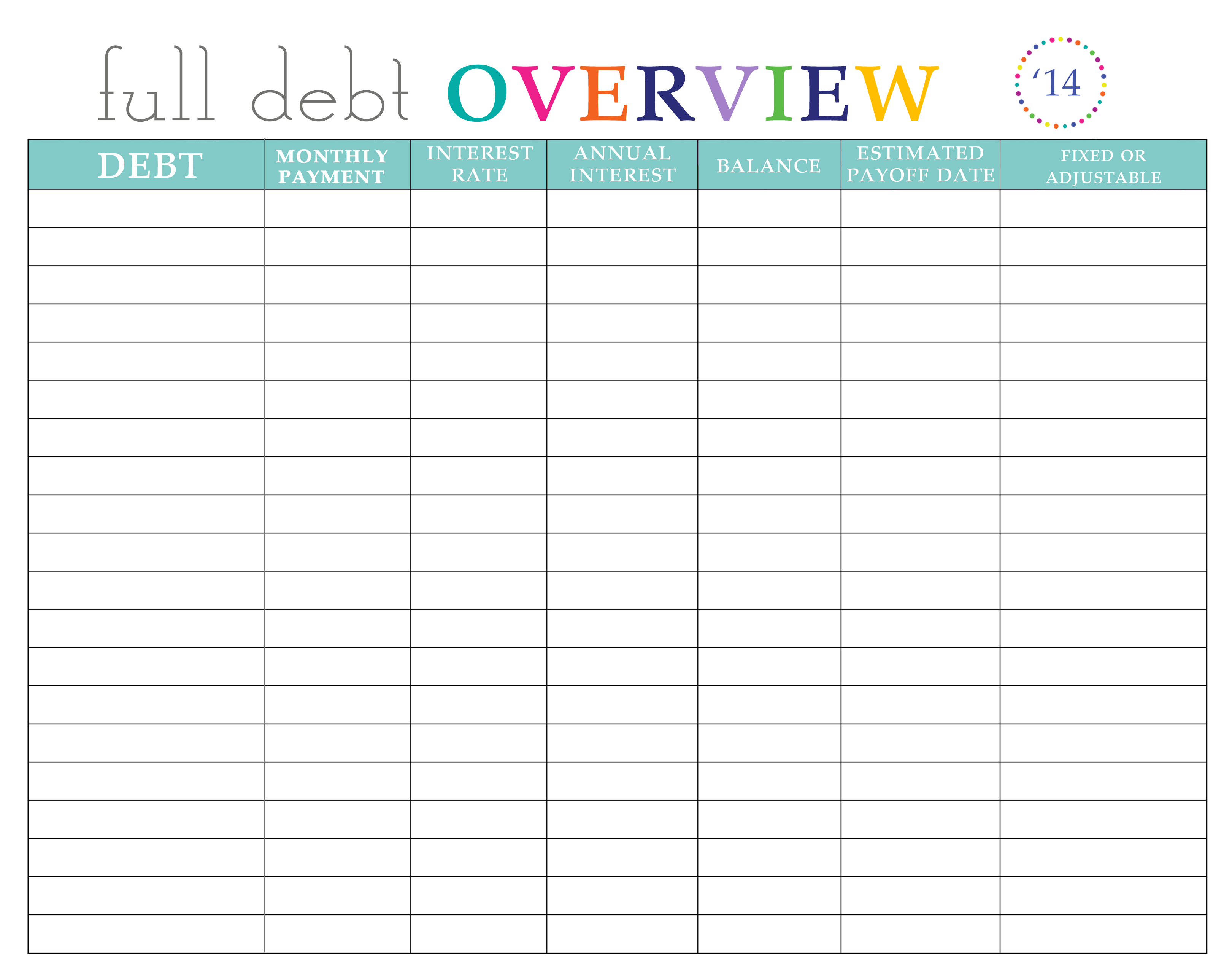 how to make a bill payment spreadsheet
