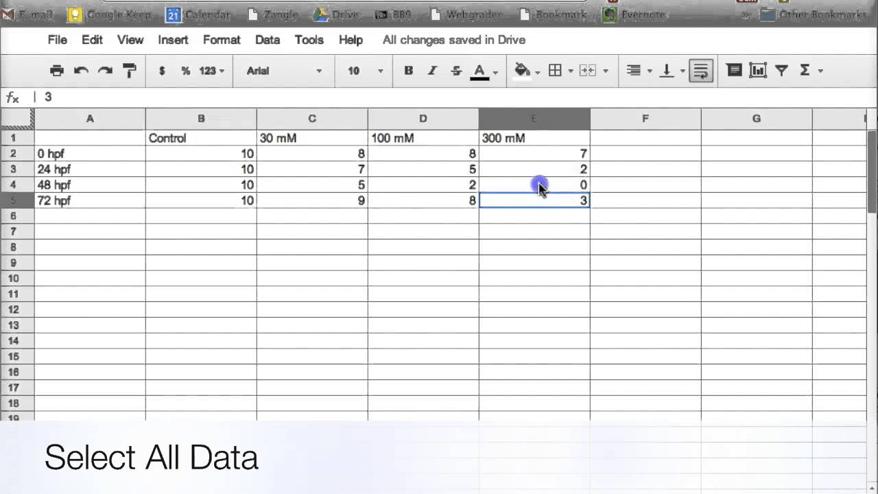 how to make a header on google docs spreadsheet