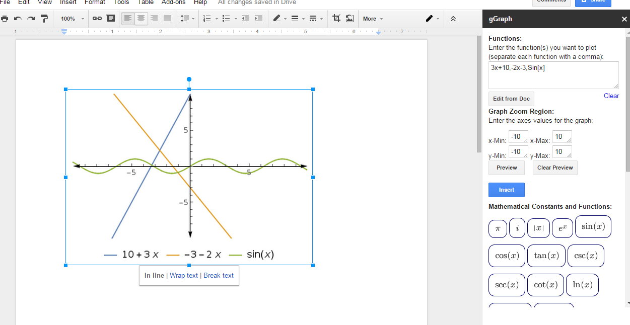 how to make a line graph in google sheets with multiple lines