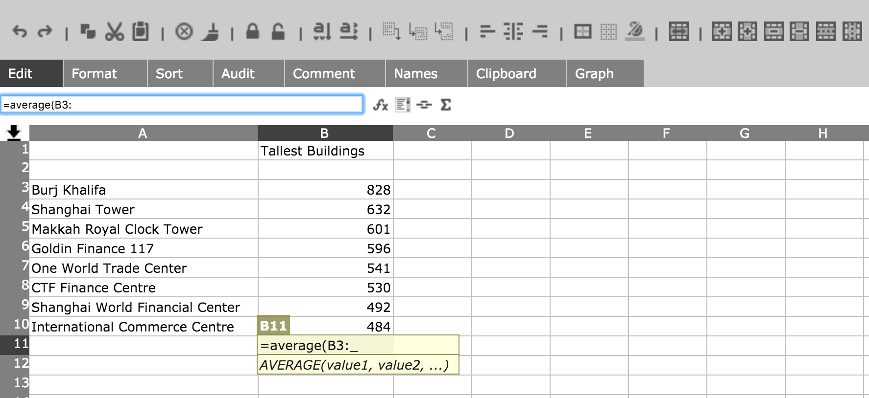 how to make a simple spreadsheet in excel 2010