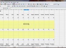 how to make a spreadsheet for a business