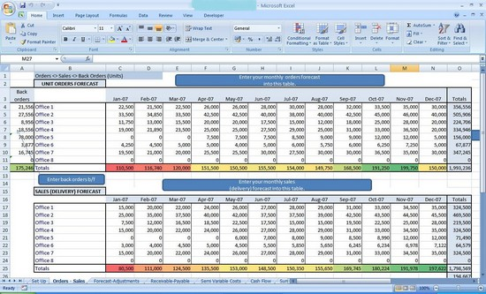 how to make a spreadsheet in excel 2013