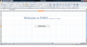 how to make a spreadsheet using excel