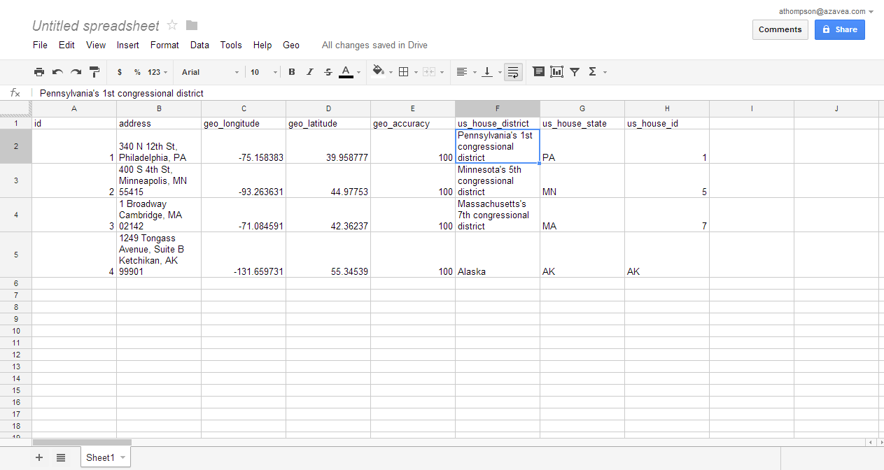 how to open a spreadsheet in google docs