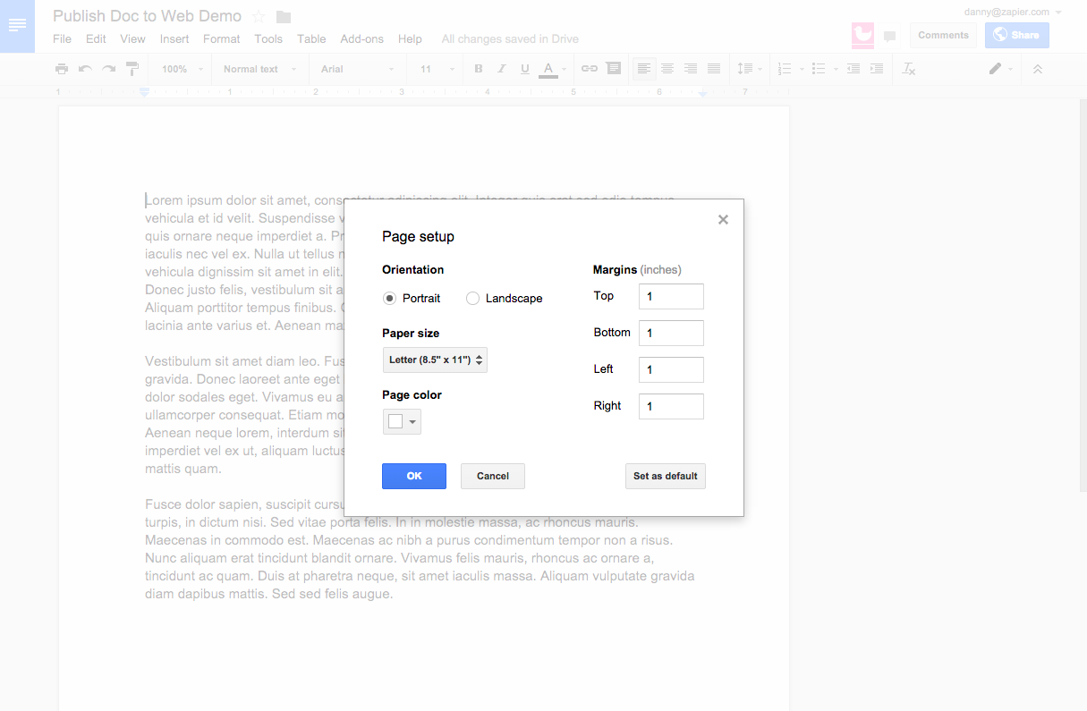 how to open google docs in chrome