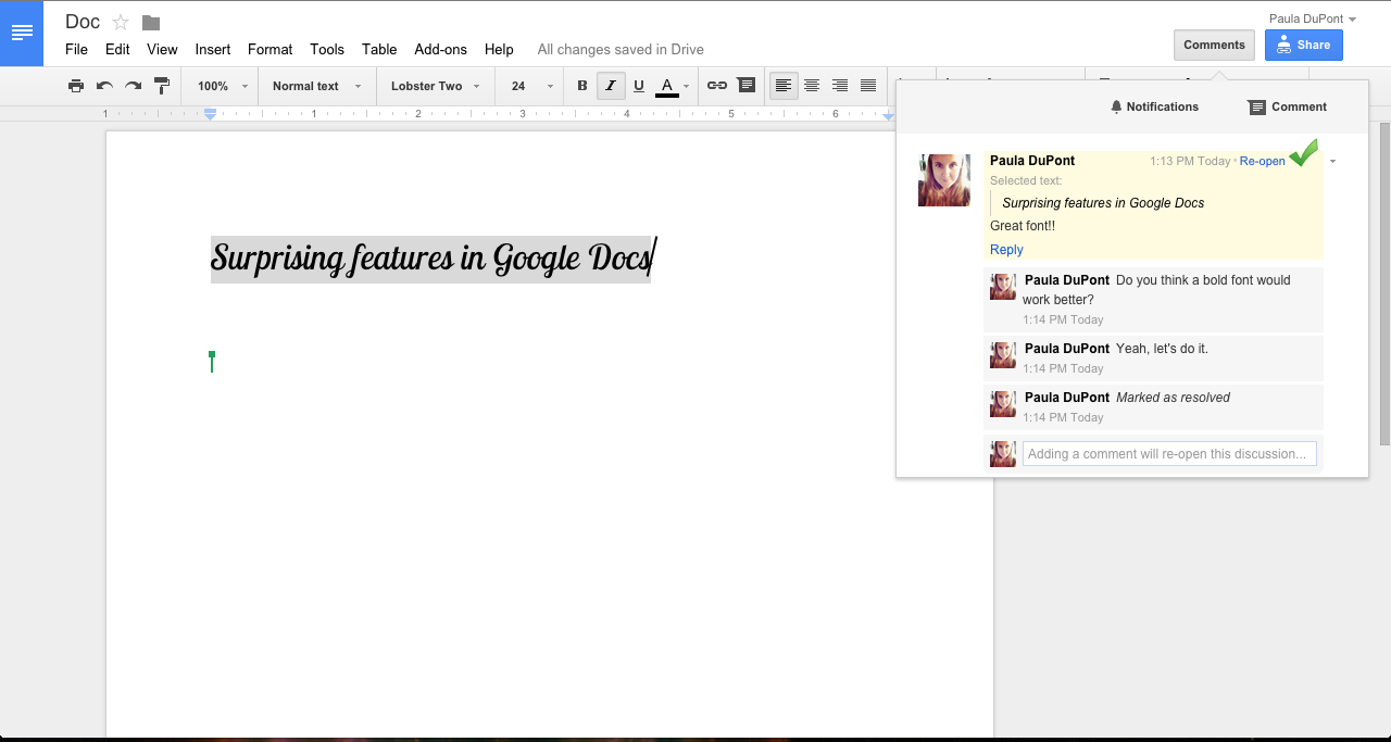 how to open google docs on iphone