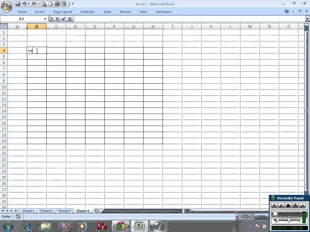 how to print a blank excel sheet with gridlines