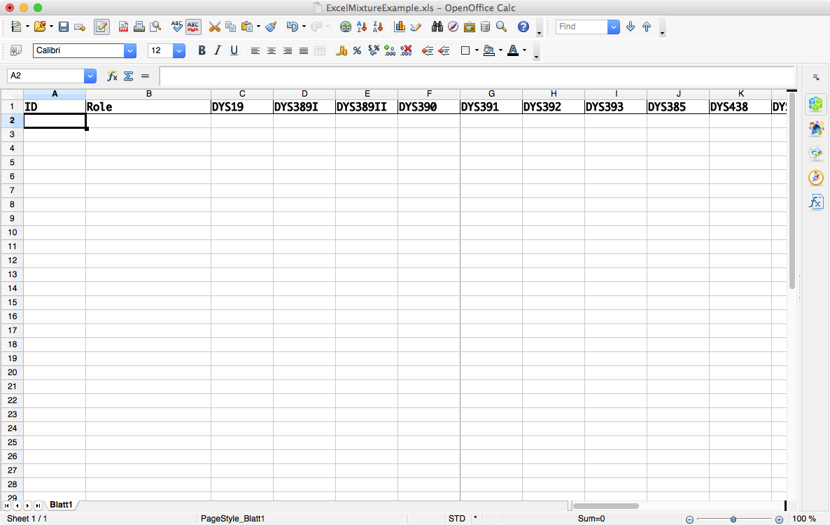 how to set up an excel spreadsheet for survey results