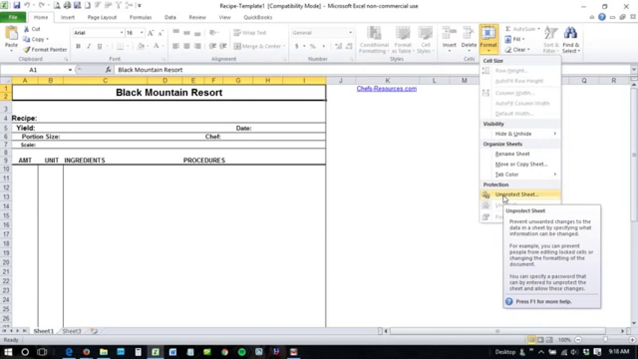 how to unlock excel spreadsheet forgot password