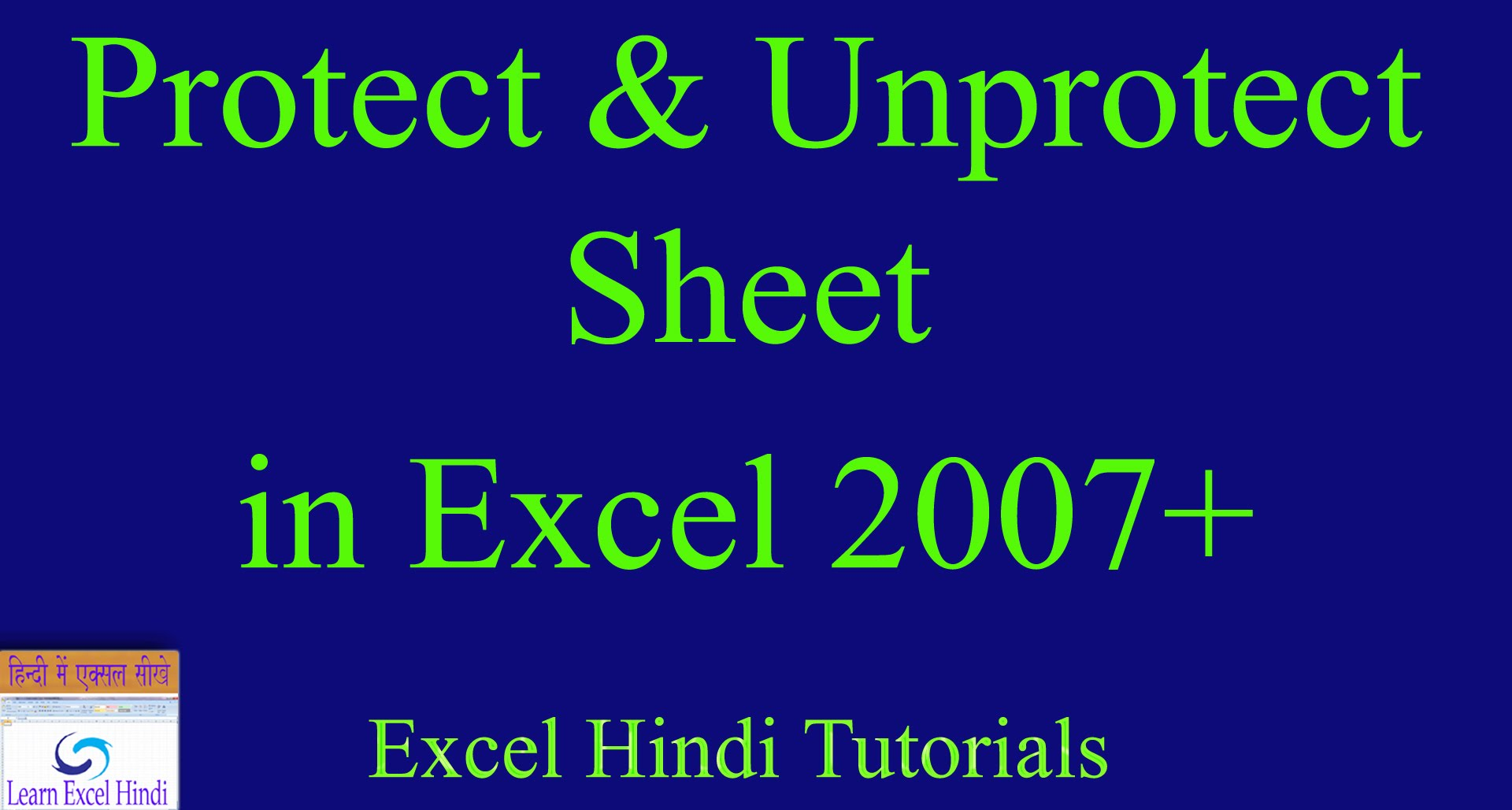 how to unprotect excel sheet 2010 if forgot password