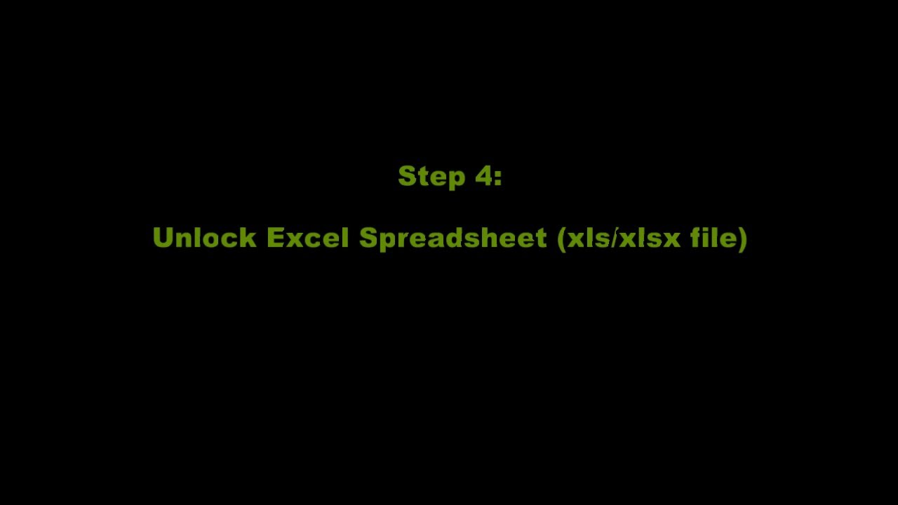 how to unprotect excel sheet without password free