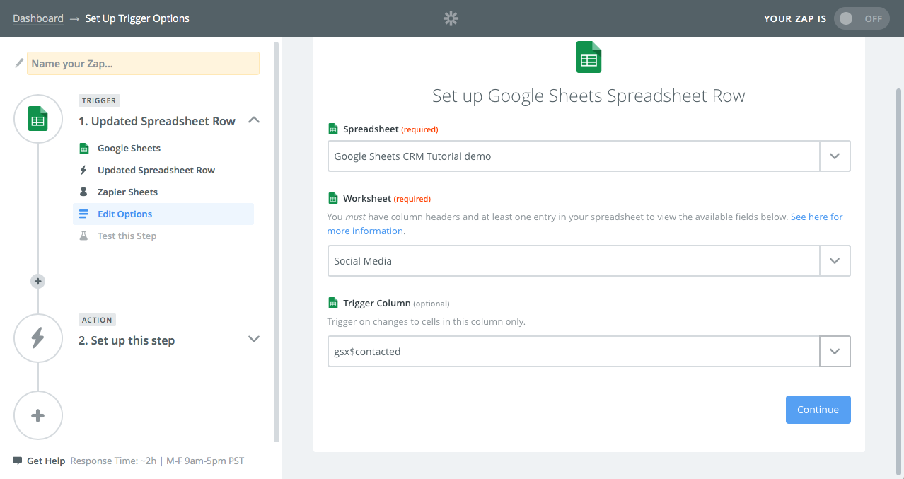 how to use google spreadsheet