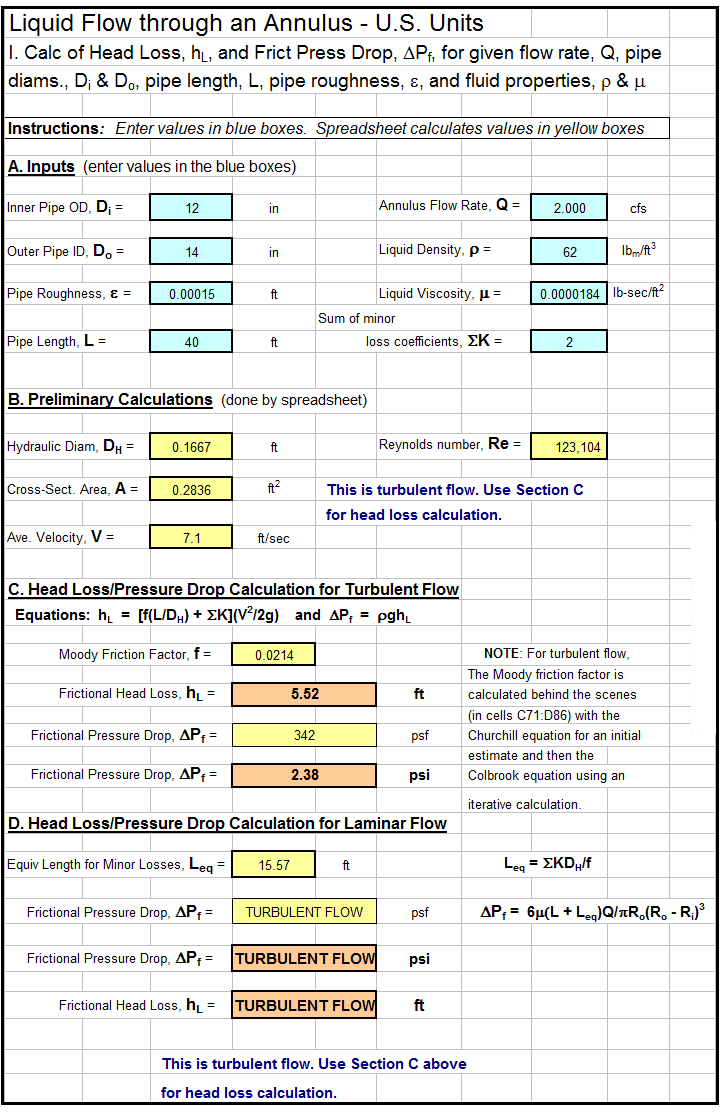 hvac load calculation excel