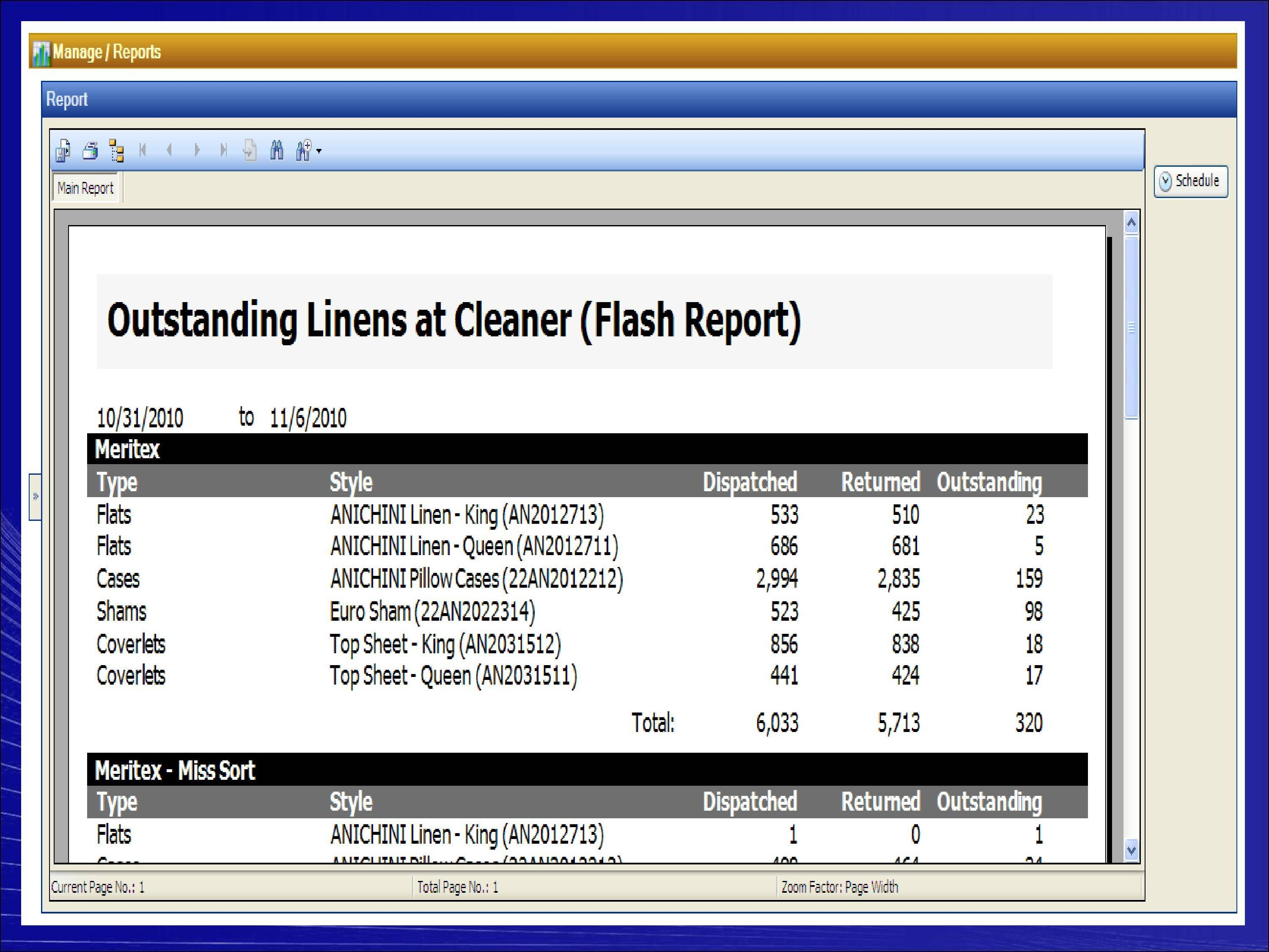 linen inventory sheet excel free