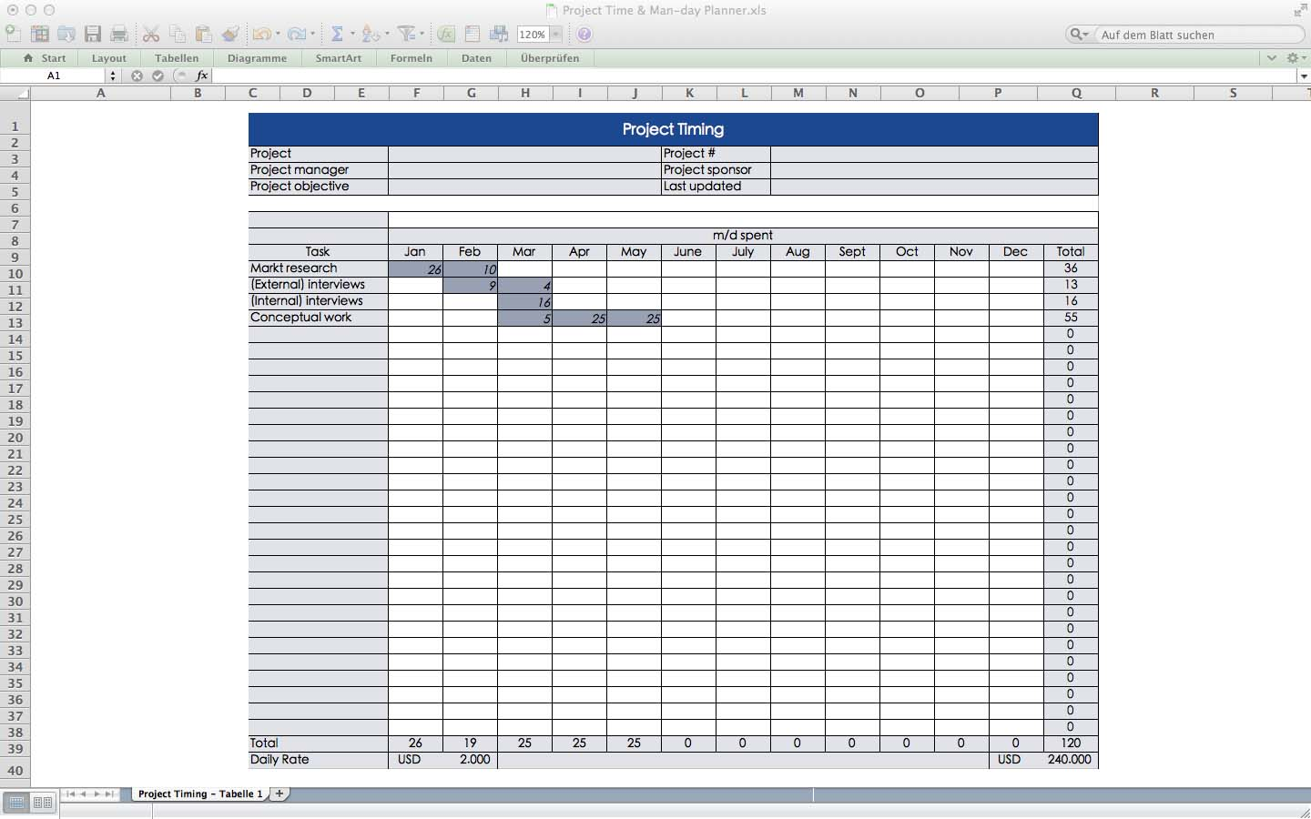 mac os x spreadsheet software