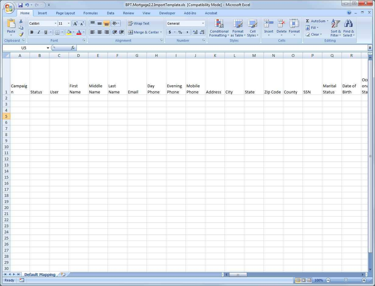 mac spreadsheet program free