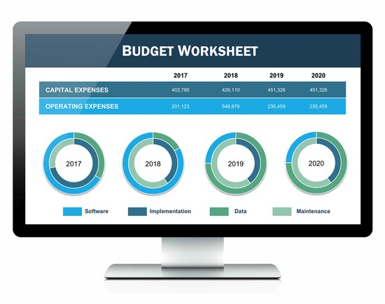 monthly budget worksheet apple