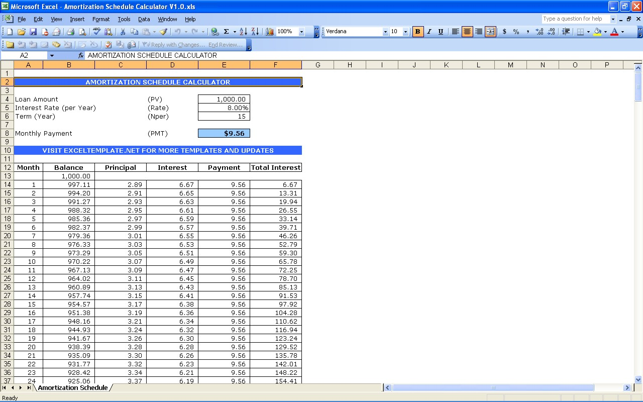 mortgage payment table spreadsheet (4)