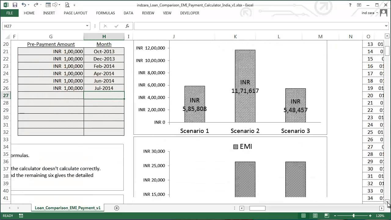 mortgage repayment calculator excel formula