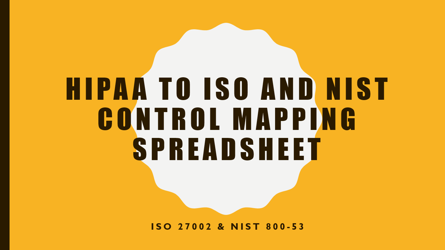 nist 800 53a rev 4 spreadsheet