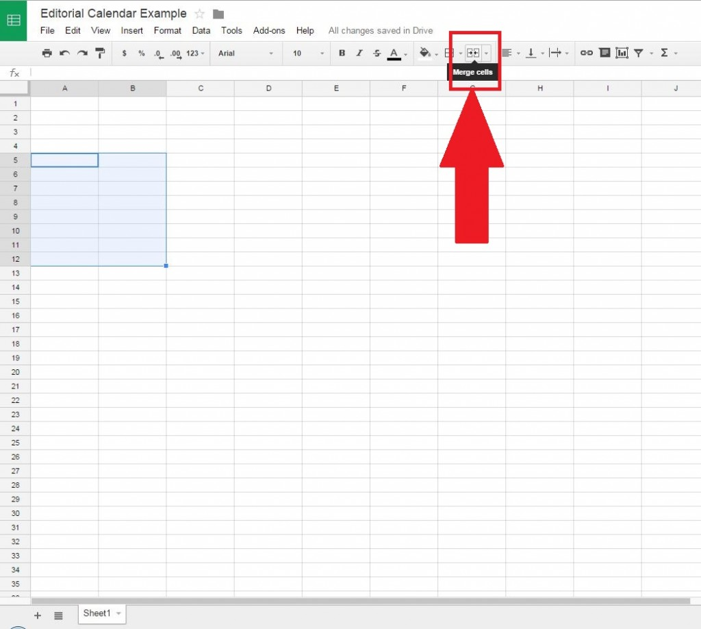 ow to make a spreadsheet in google docs free