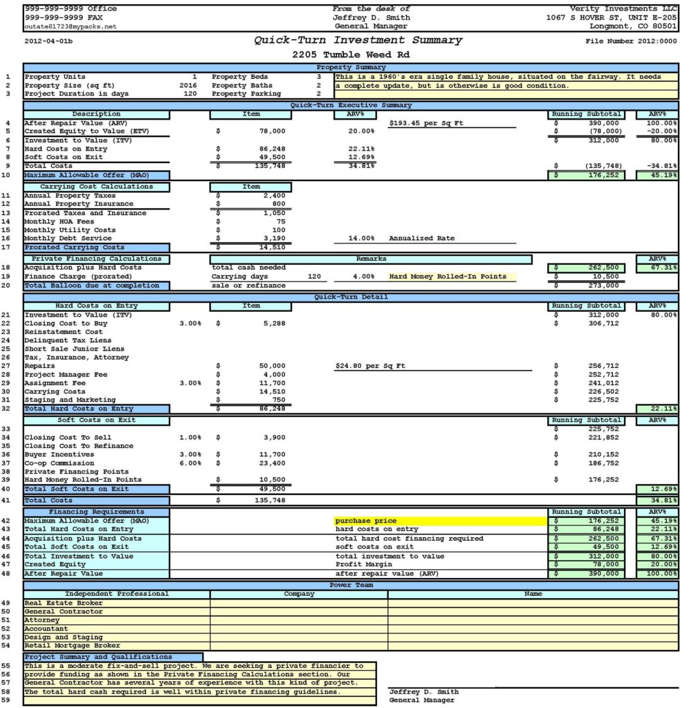 property management spreadsheet template free