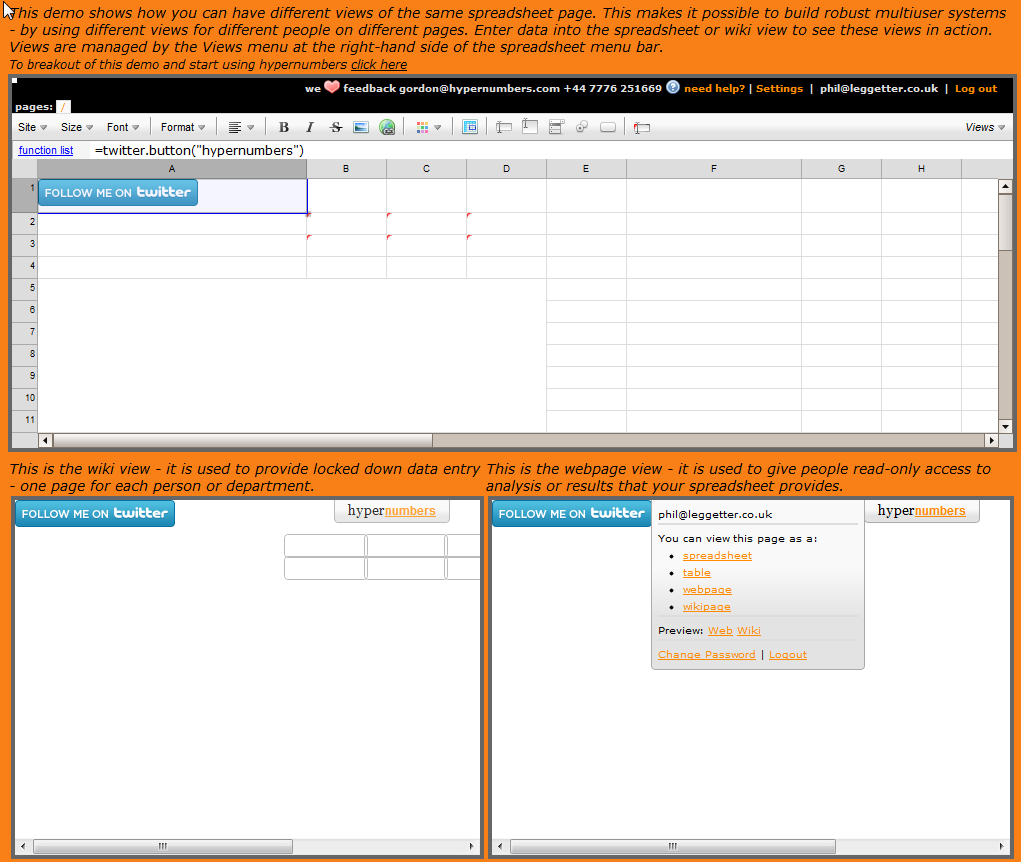 publish excel 2016 to web