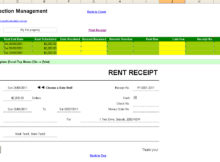 rental property record keeping template