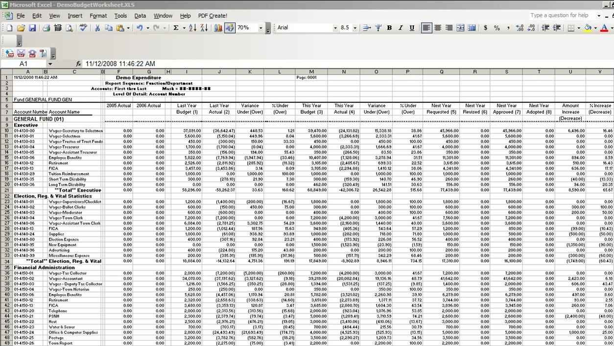 sample excel sheet with data download