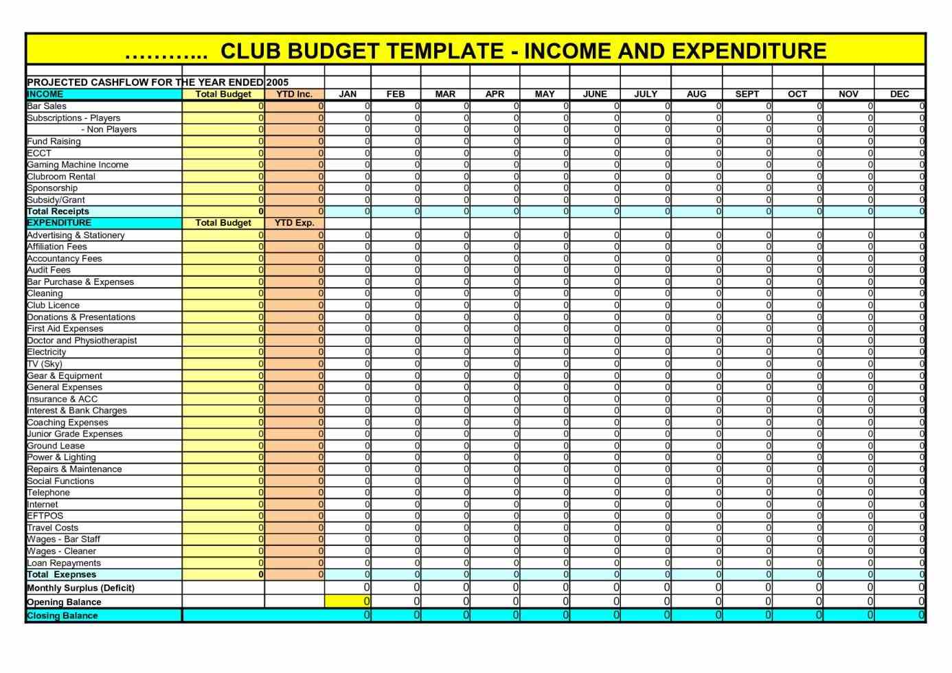 spreadsheet for rental income and expenses