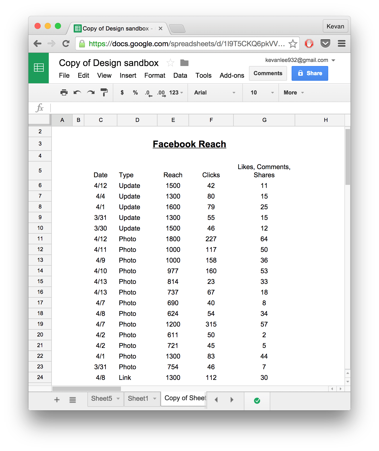 spreadsheet in google drive download