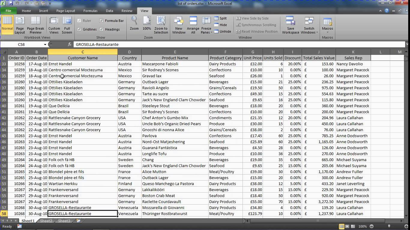 spreadsheet programs other than excel