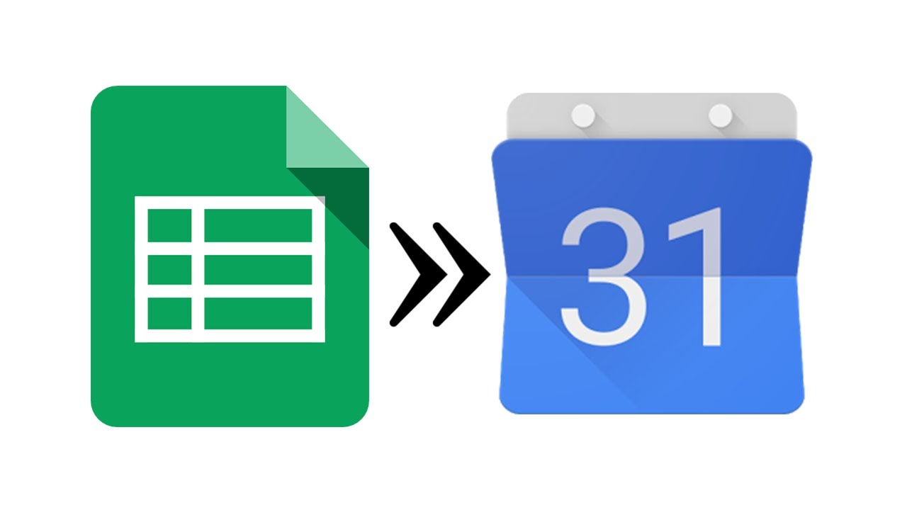 sync google calendar with google docs spreadsheet