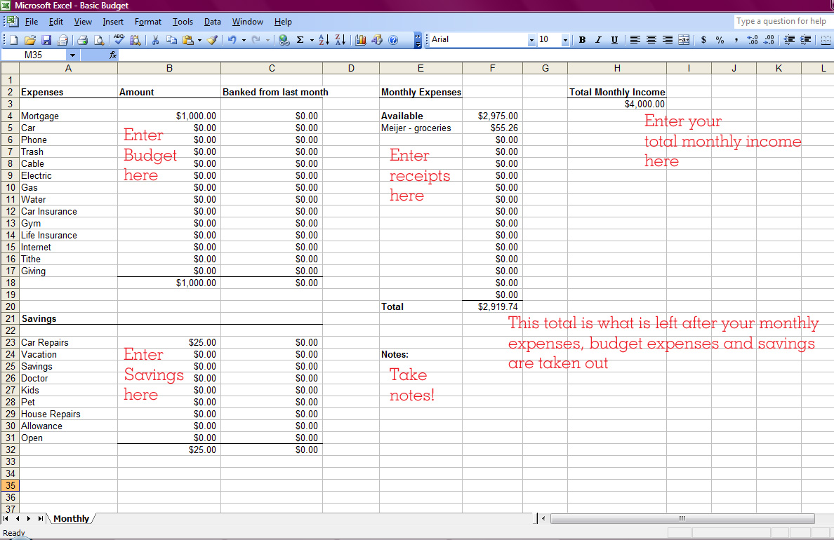 template free church tithe and offering spreadsheet