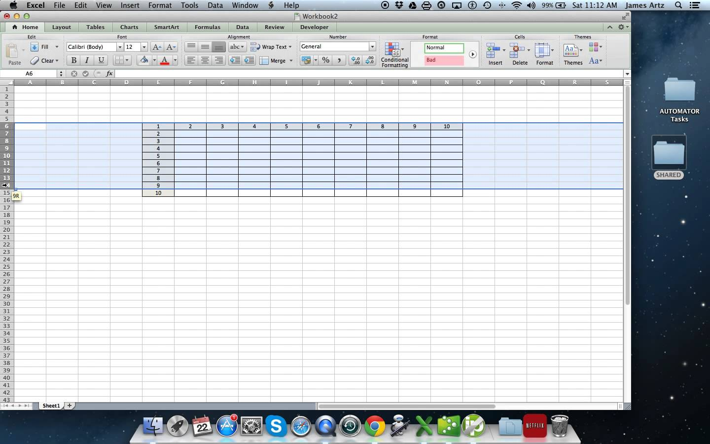 templates Spreadsheet Test For Interview free
