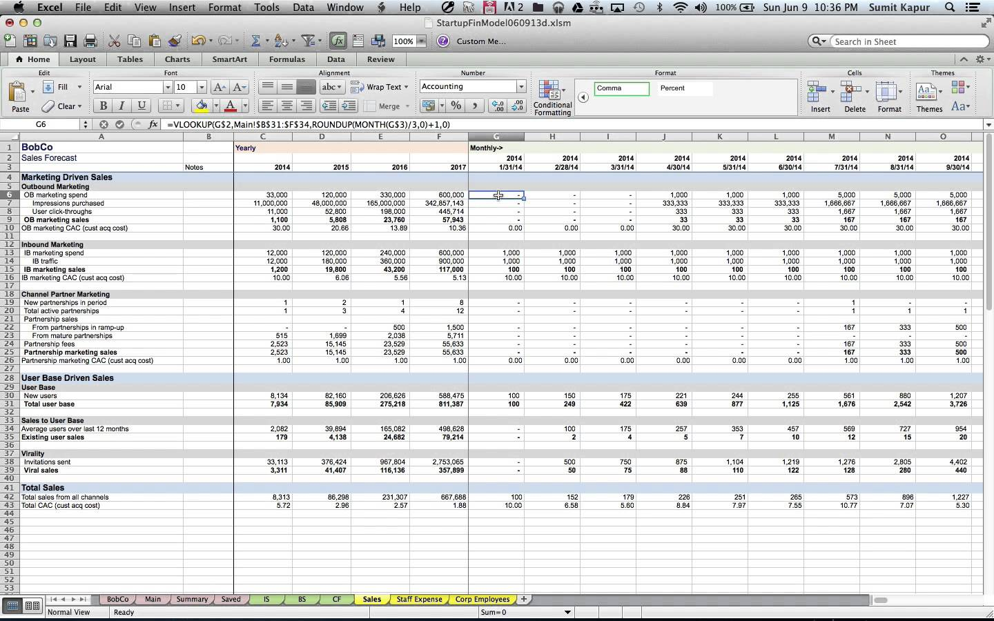 templates startup valuation spreadsheet free download